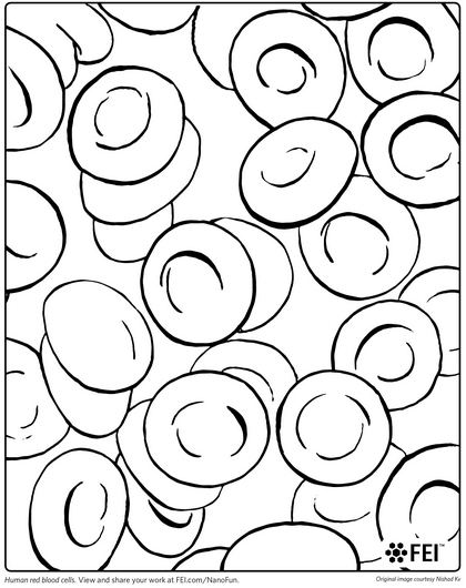 blood coloring pages - photo#2